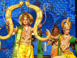 The Legend of Lord Rama depicted by Ramlila