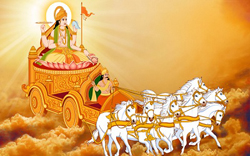 Ratha Sapthami is celebrated in the honor of Lord Sun