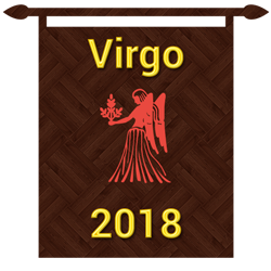 Symbol of Virgo zodiac sign