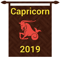 Symbol of Capricorn zodiac sign