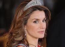 Crown Princess Of Asturias Letizia