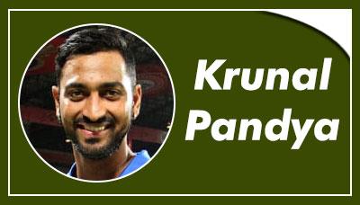 Krunal Pandya
