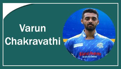 Varun Chakravathi