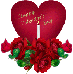 A symbol of Valentine�s Day