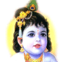 People sing Krishna Bhajan on Janmashtami