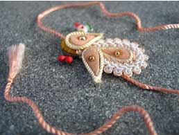 Rakshabandhan or Rakhi festival signifies the love between brother and sister.