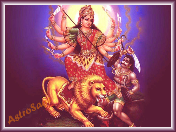 Wallpapers of navratri festival
