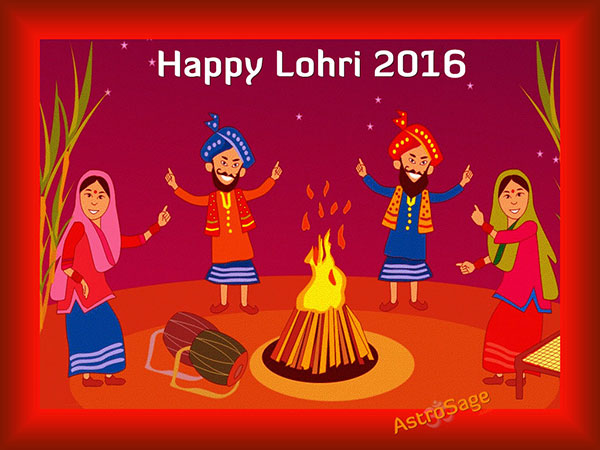 Get Backgrounds of Lohri