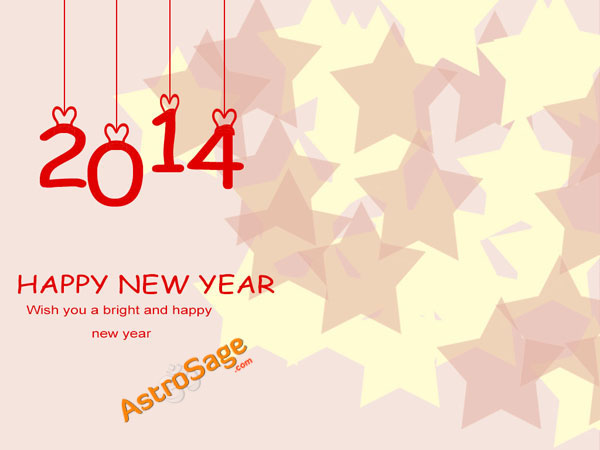 2014 Newyear Greetings Card